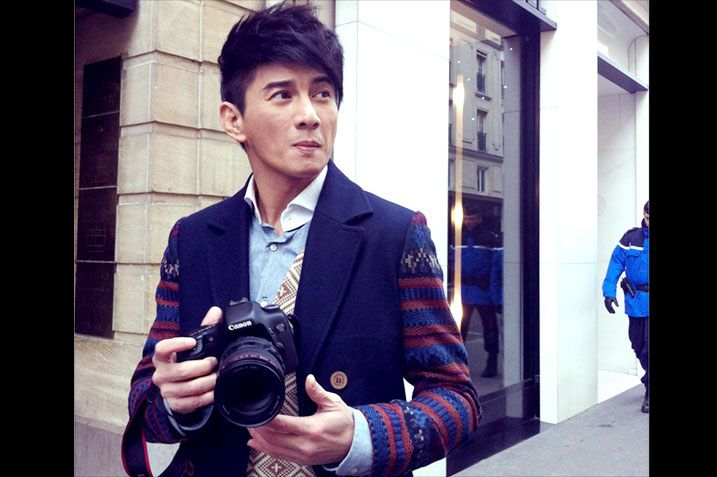 Nicky Wu in his younger days | Handsome men, Role models