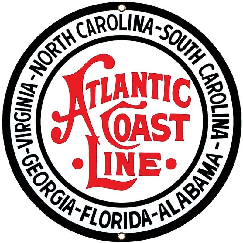 Farm Retro Style Logos: Atlantic Coast LIne Railroad