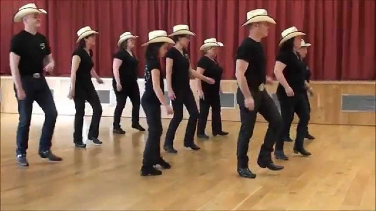 BULLFROG ON A LOG Line Dance (Dance & Teach in French