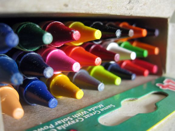 We could learn a lot from crayons; some are sharp, some are pretty, some are dull, while others bright, some have weird names, but they all have learned to live together in the same box.  ~Robert Fulghum
