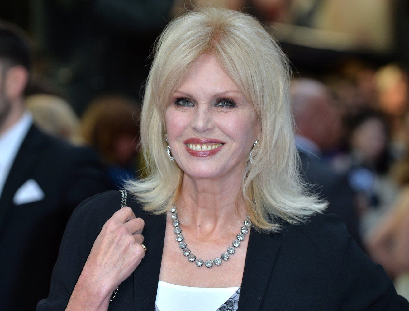 Joanna Lumley (born 1946 (born in Srinagar, India)