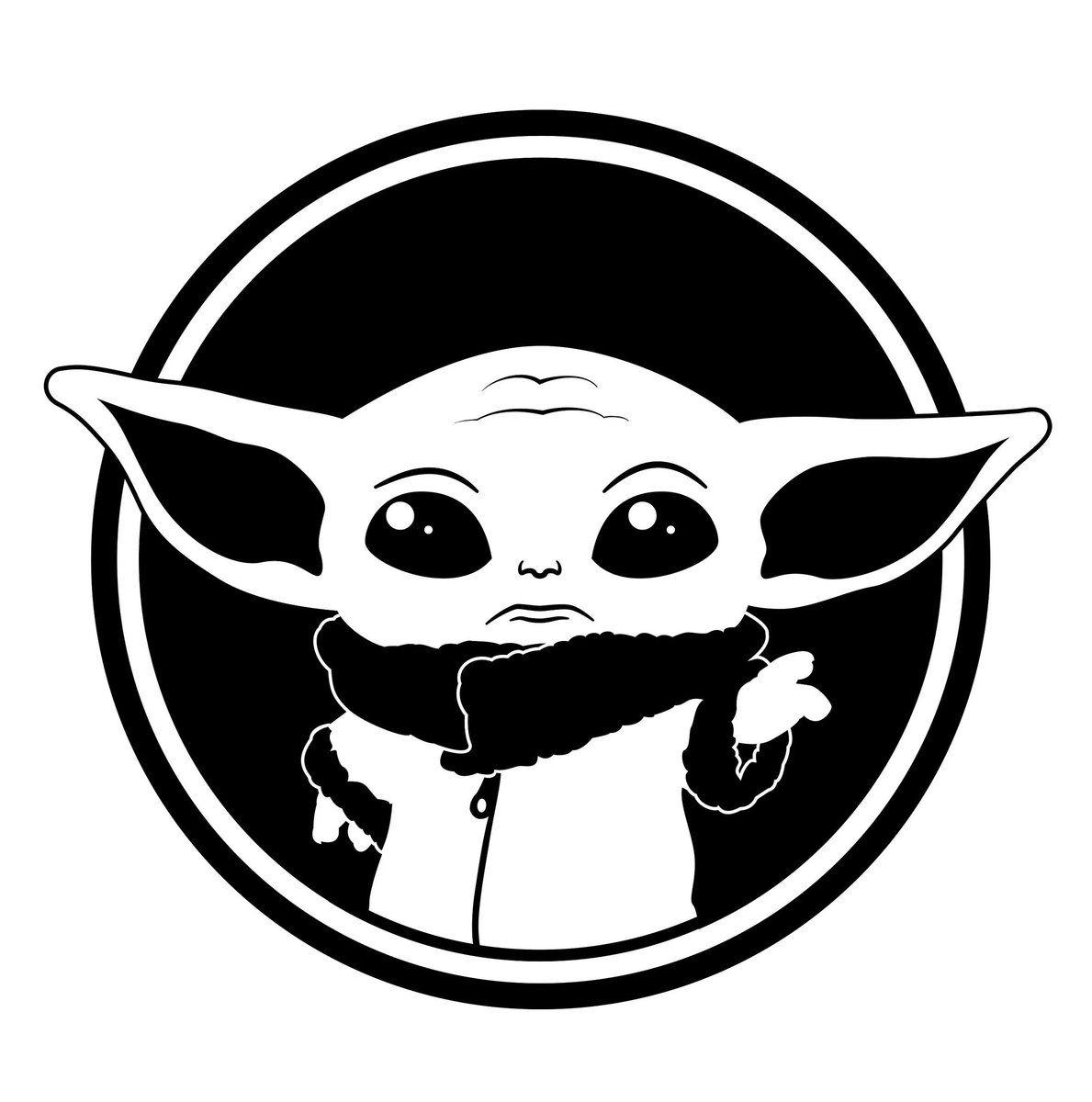 Yoda Kopf Malvorlage
