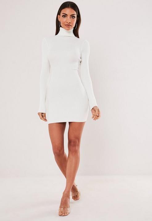 47++ High neck white dress information