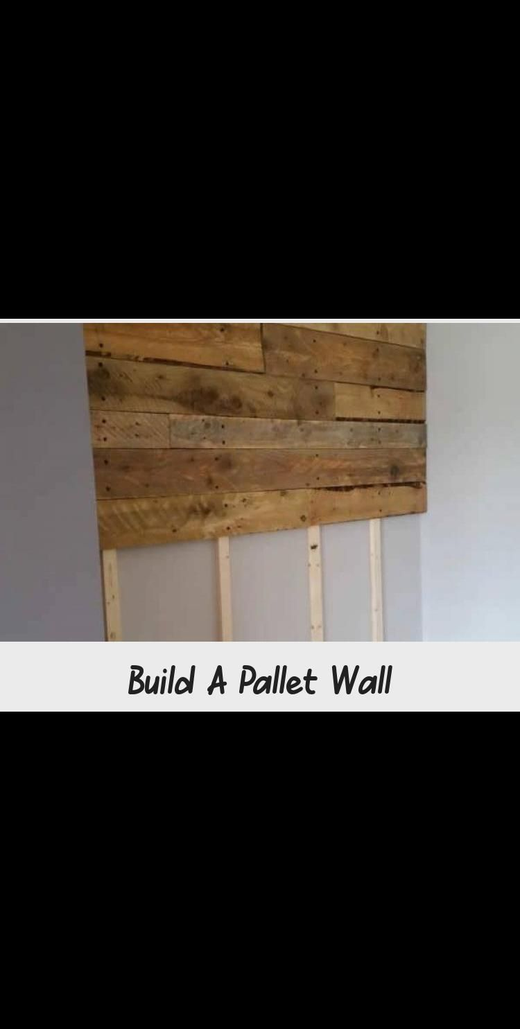 Got the pallet wood from builders at a construction site ...