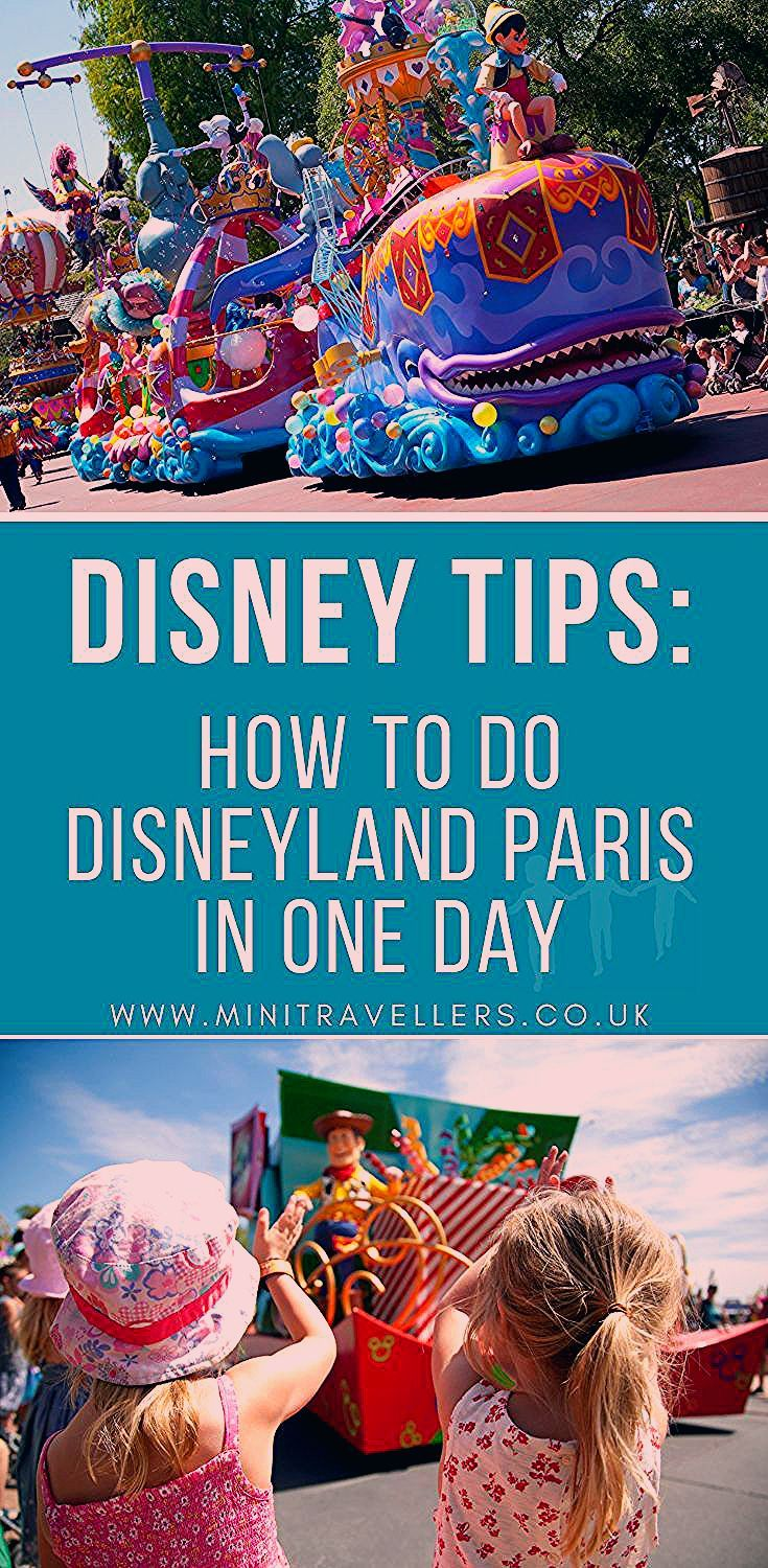 How to do Disneyland Paris in One Day - Mini Travellers - Family Travel & Family Holiday Tips