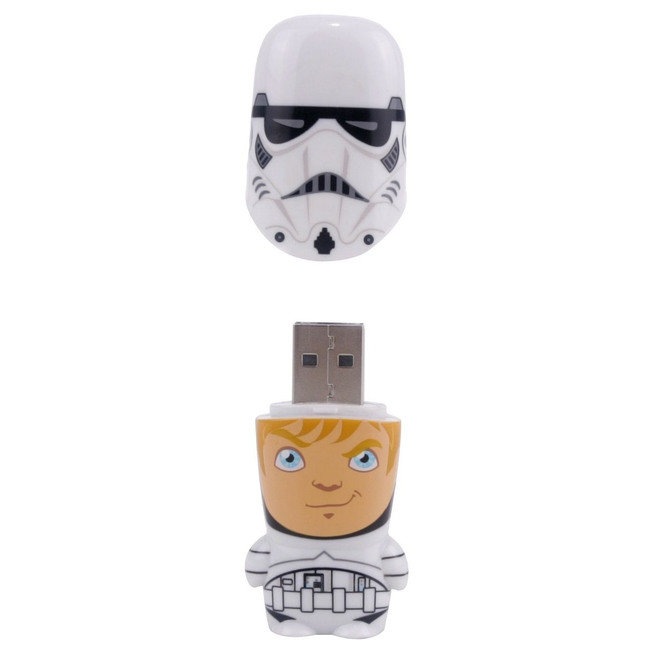 Mimoco 16GB Mimobot USB 2.0 Flash Drive - Stormtrooper Unmasked #Stormtrooper2-16GB