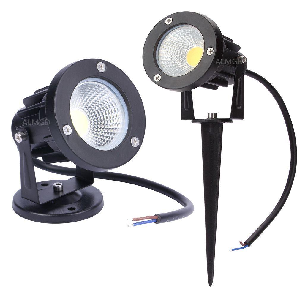 Nouveau Style COB Jardin Pelouse Lampe Lumière 220 V 110 V 12 V Extérieure  LED De