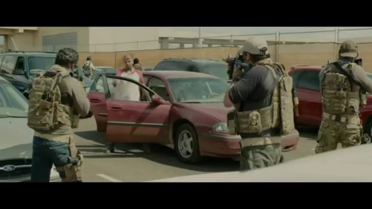Sicario - Border Battle Scene (HD)