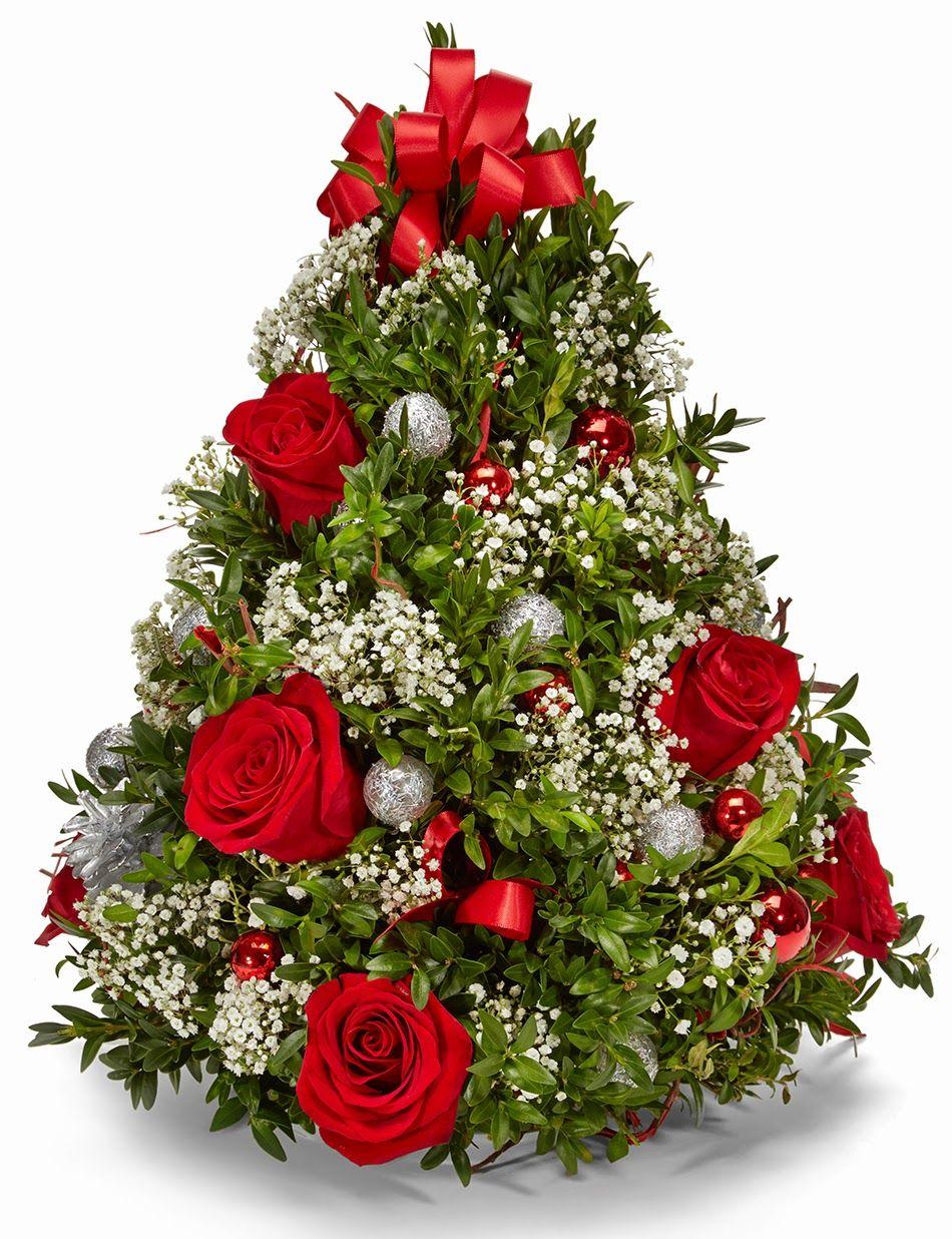 Flower Christmas Tree Virgos Karcsonyfa Megaport Media La