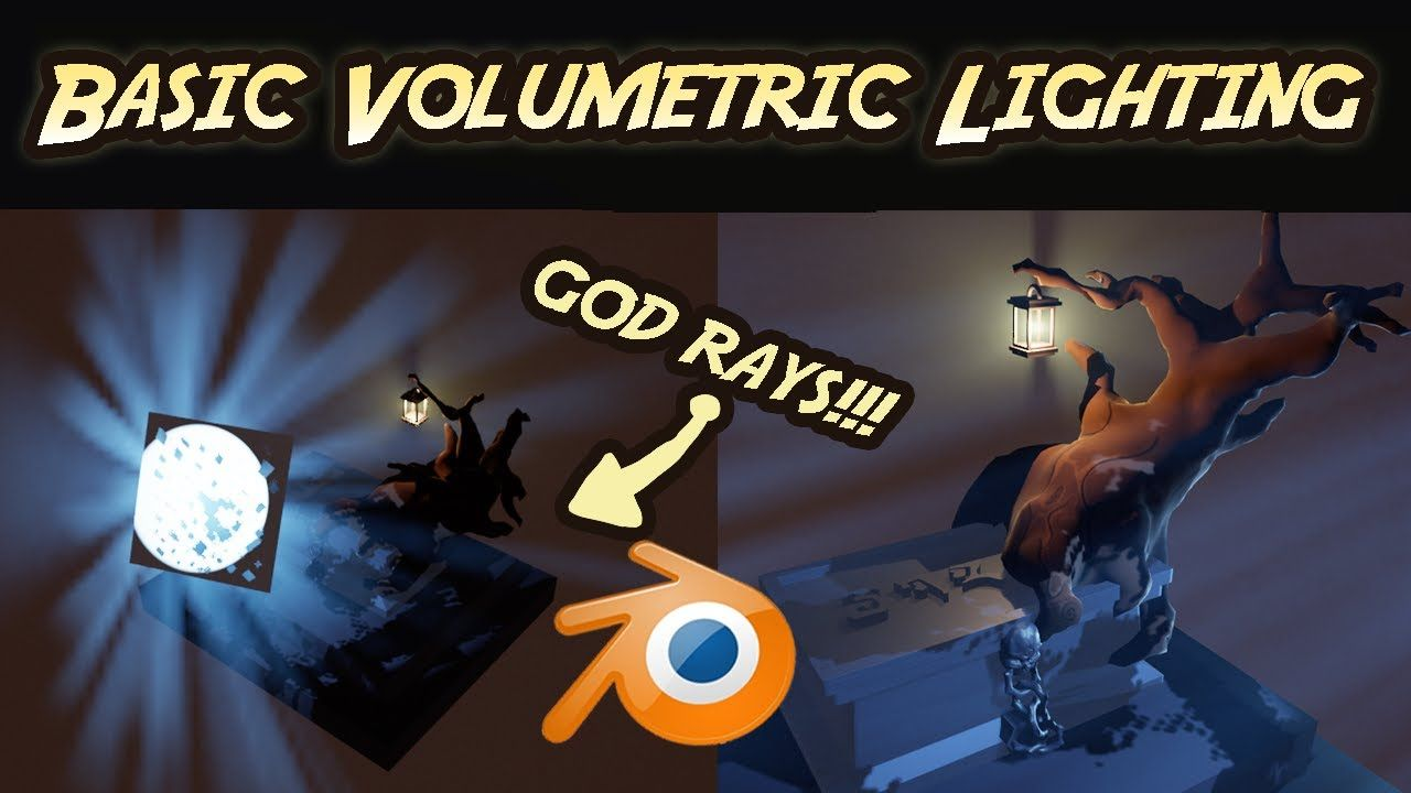 God rays and volumetric lighting blender beginners