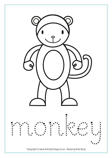 monkey worksheets worksheets chinese zodiac animal