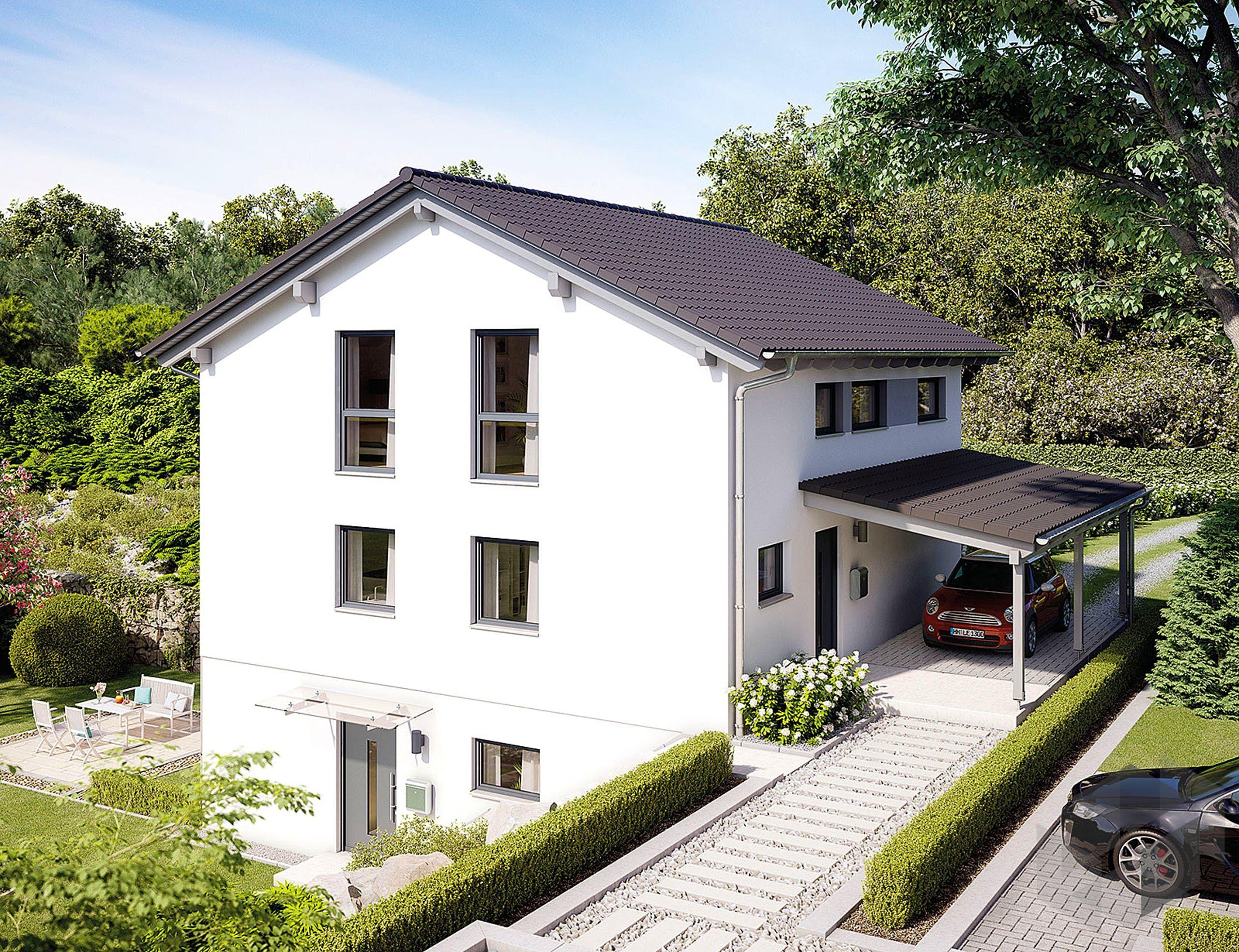 Mehrfamilienhaus mit 3 Etagen 'Variant 25166' von Hanse