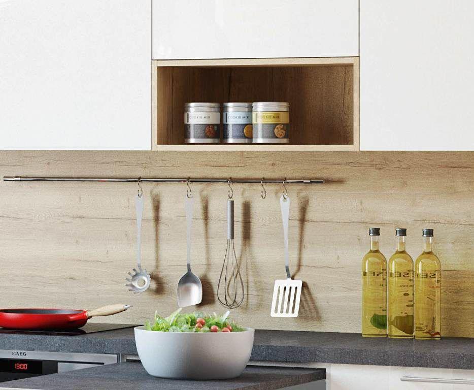 Kleine Küche planen - multifunktionale Lösungen