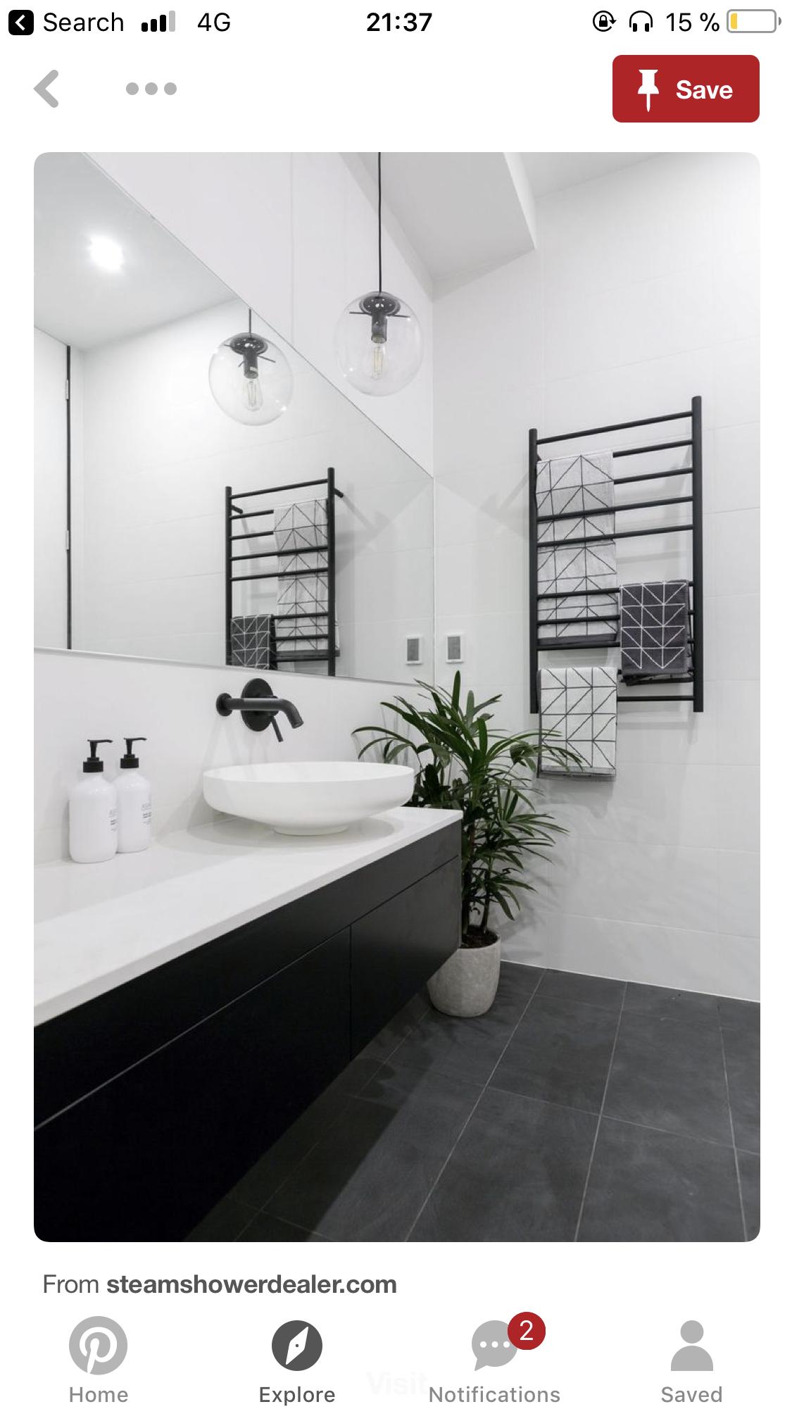 Pin by Sylwia Płonka on Moje mieszkanie | Pinterest | Bathroom inspo ...