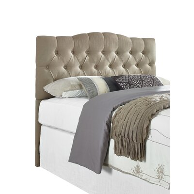 Three Posts Cleveland Upholstered Panel Headboard Bed Frame