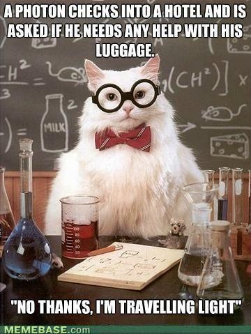 chemistry jokes cat haha