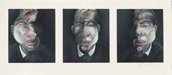 Three Studies for a Self-Portrait Francis Bacon