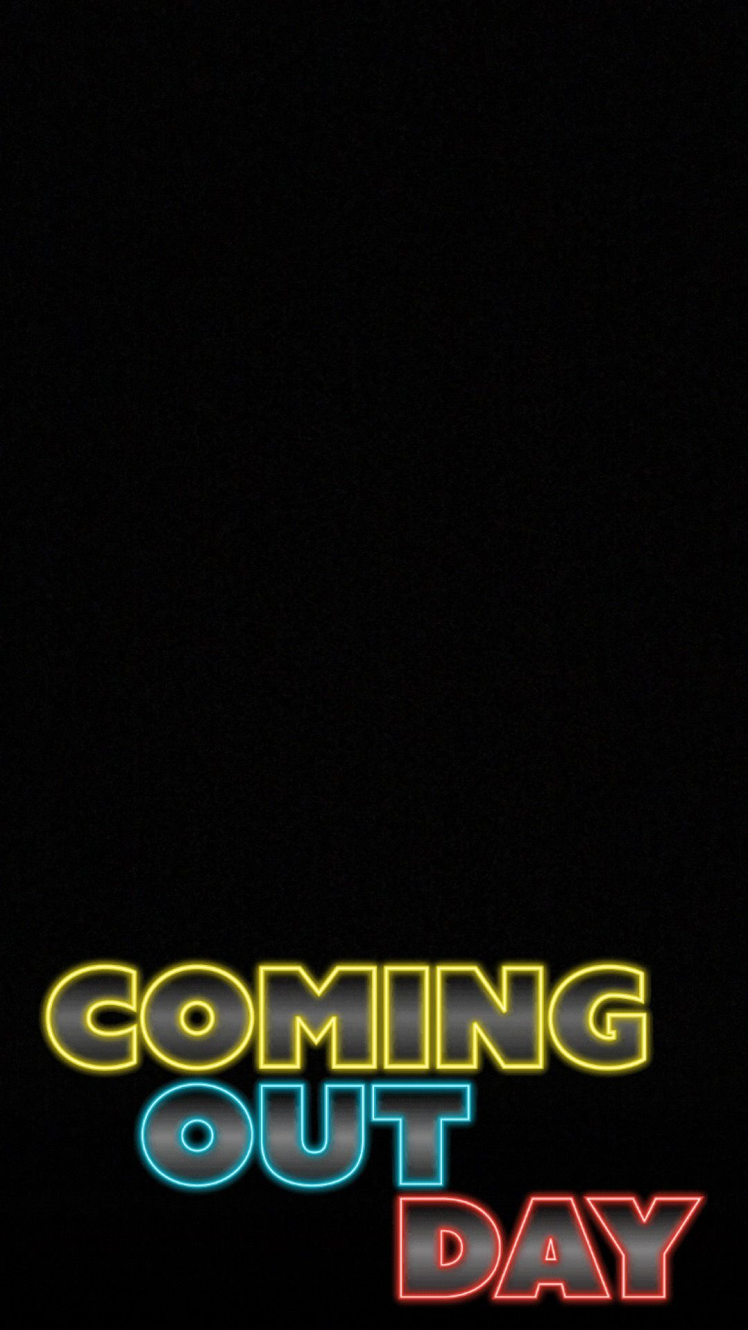 Coming Out Day Snapchat geofilter Social media