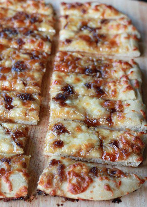 Brown Sugar Garlic Mozzarella Breadsticks