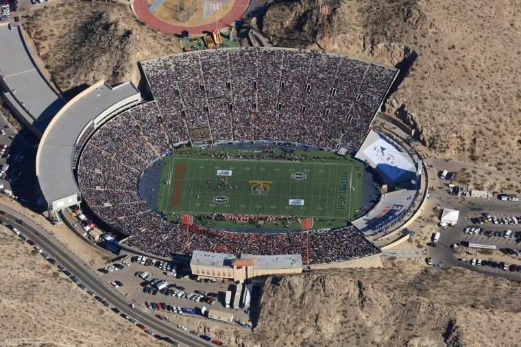 Sun bowl, El Paso, TX (With images) | Road trip across america, El paso,  Texas towns
