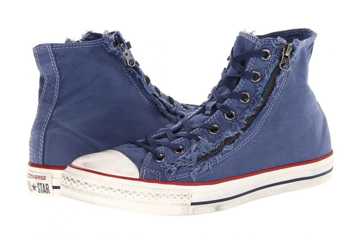 Converse Chuck Taylor All Star double zip high-top men s sneakers on sale  at DSW 7c631796d