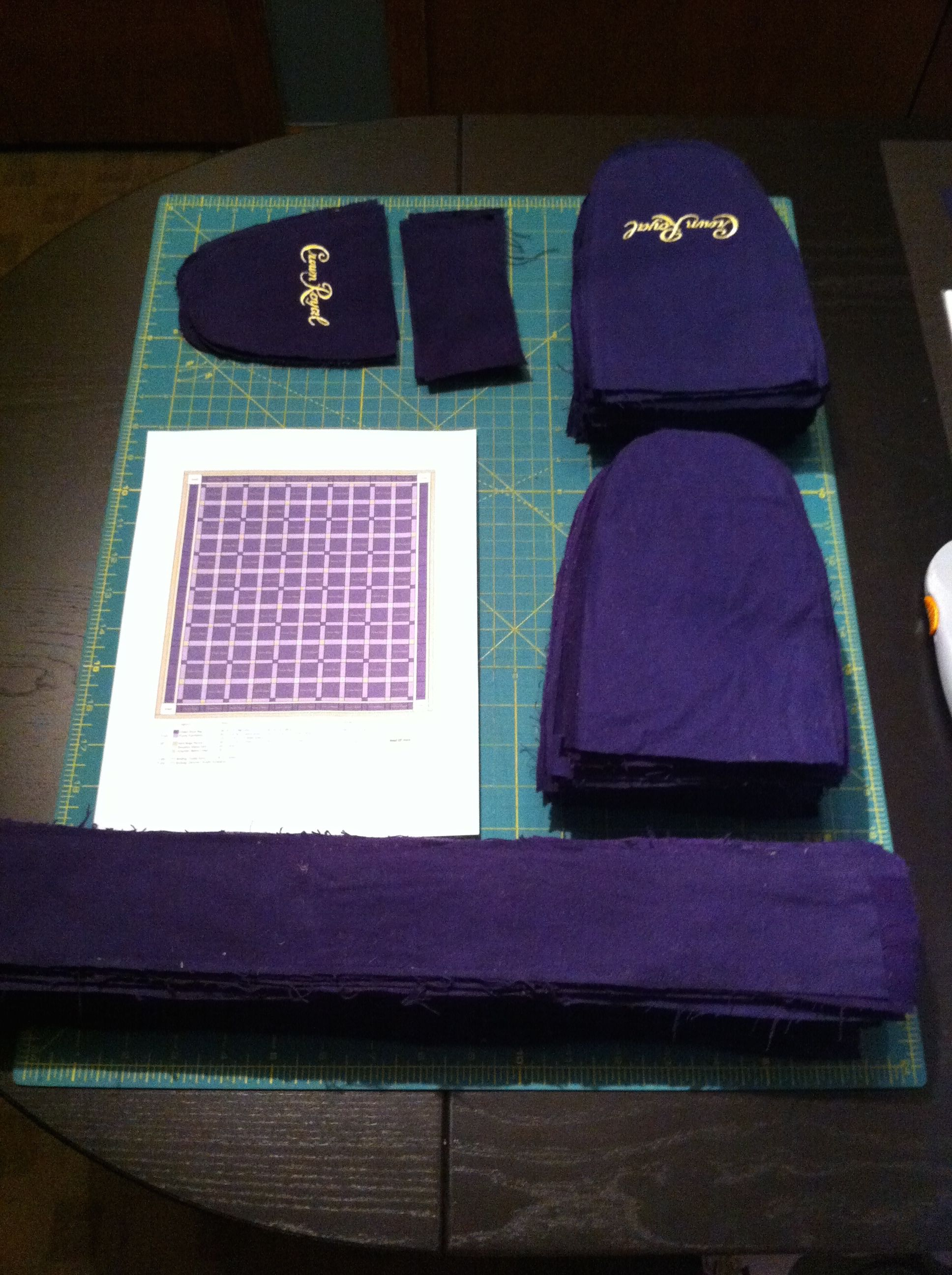 On November 22nd a friend of ours was looking for someone to make ... : crown royal bag quilt - Adamdwight.com