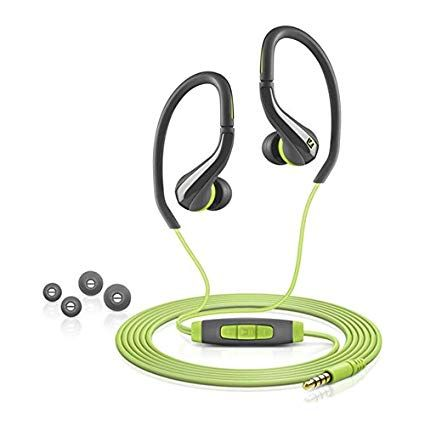 4caf22e720b Sennheiser Ocx 684I Sports Headphones Over The Ear Sports Earphones Sweat  and Water Resistent Sports Eabuds