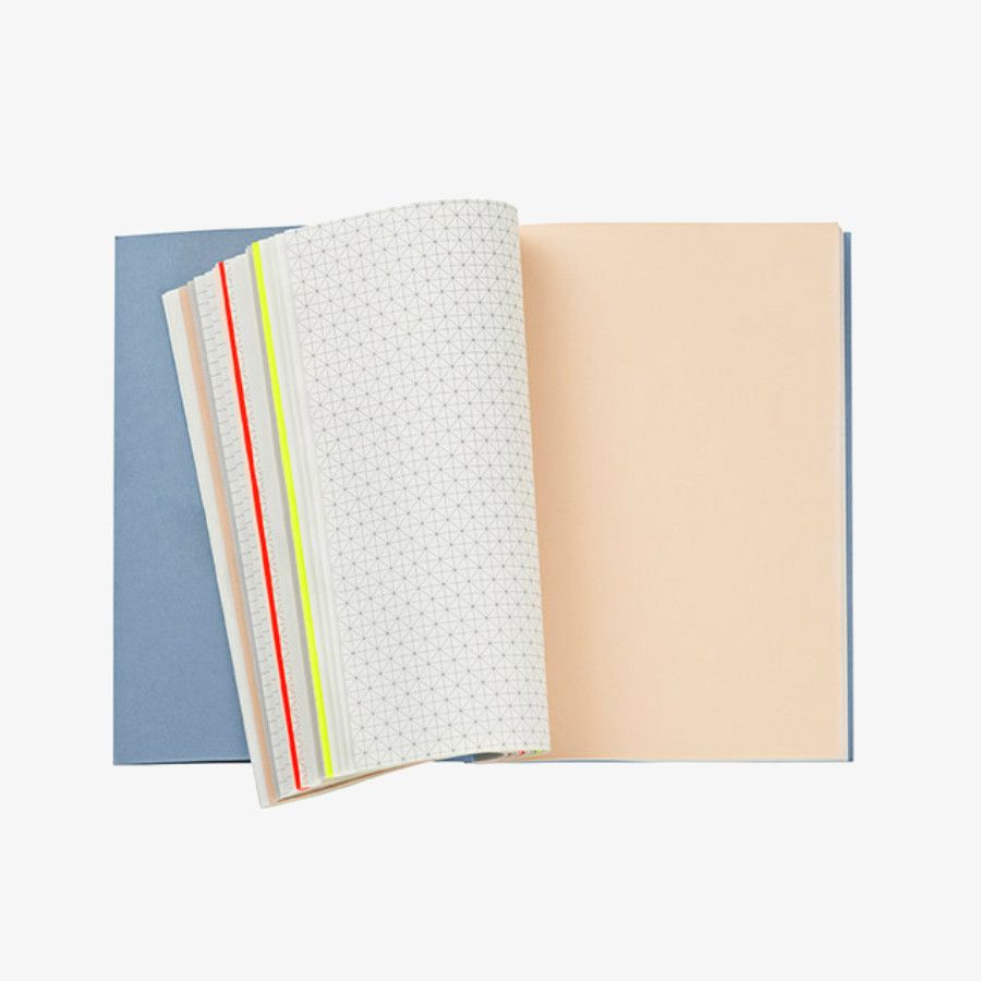 Hay Spine Mixed Paper Notebook