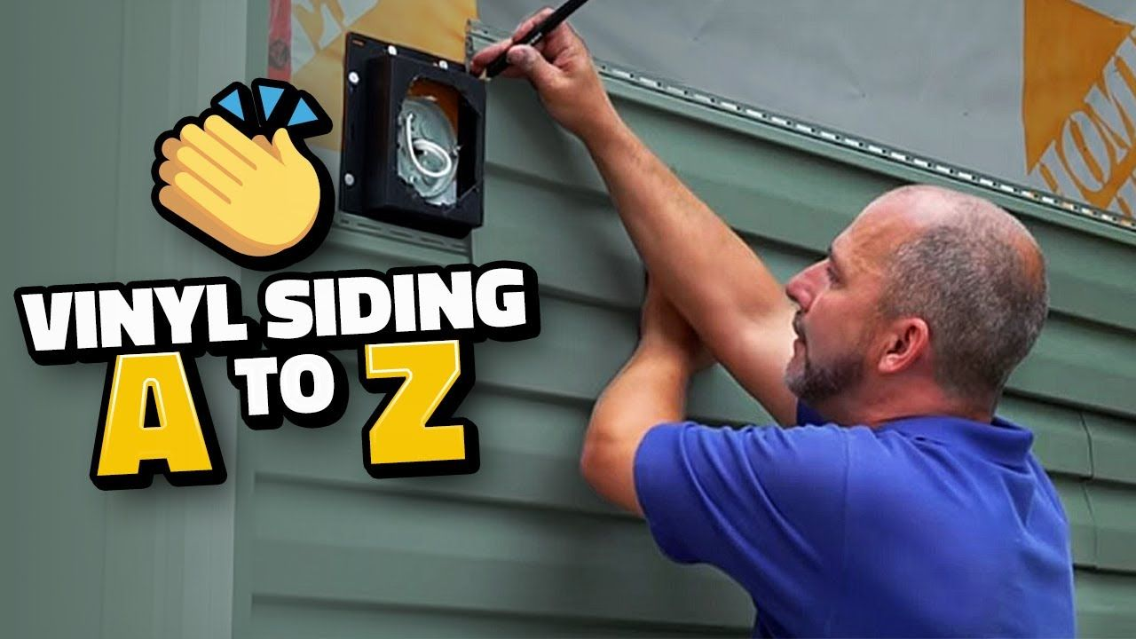 How To Install Vinyl Siding From A To Z Vinyl Siding Vinyl Siding Installation Vinyl