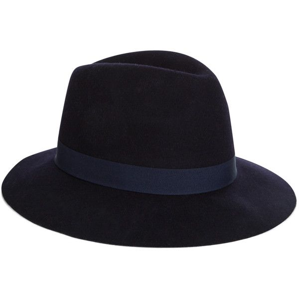 Accessorize Grosgrain Fedora (€49) ❤ liked on Polyvore featuring accessories, hats and fedora hat