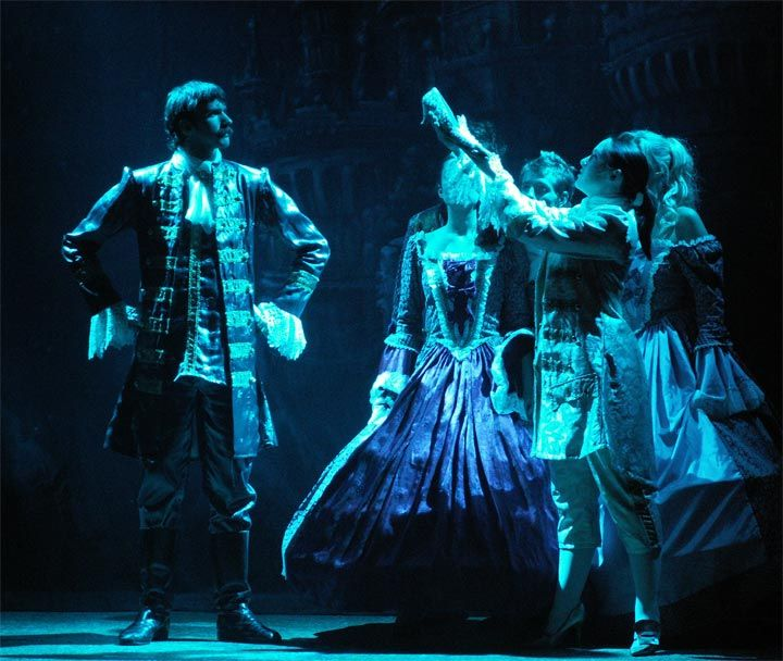Harlow Playhouse. Cinderella Design - Malvern Hostick Copyright ©. Sophie Barker. Melissa Guest. Paul Turner.