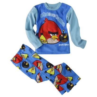 Angry Birds Boys Its a Birds World Fleece Pajama Set
