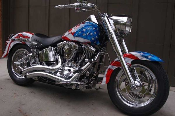Awesome Custom Motorcycle Usa Paint Schemes 10 Awesome Patriotic Paint Jobs American Flag Motorcycle Harley Davidson Motorcycles
