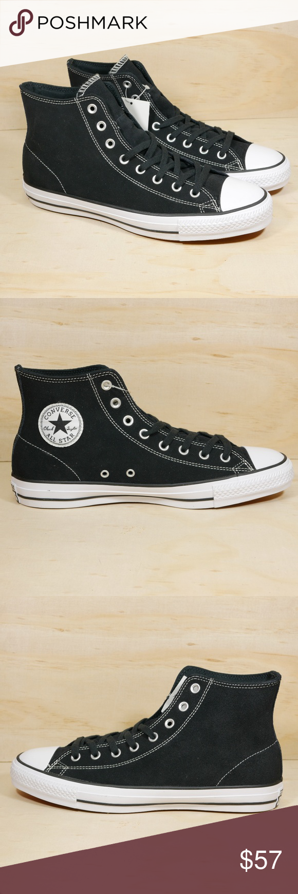979eb3244eec Converse Chuck Taylor All Star Hi Black Suede Converse Chuck Taylor All Star  Hi Top Black