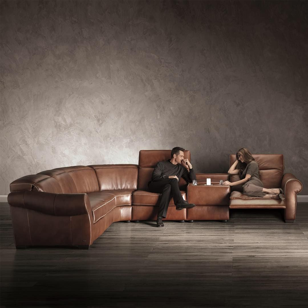 Upgrade To A Luxury Leather Sectional