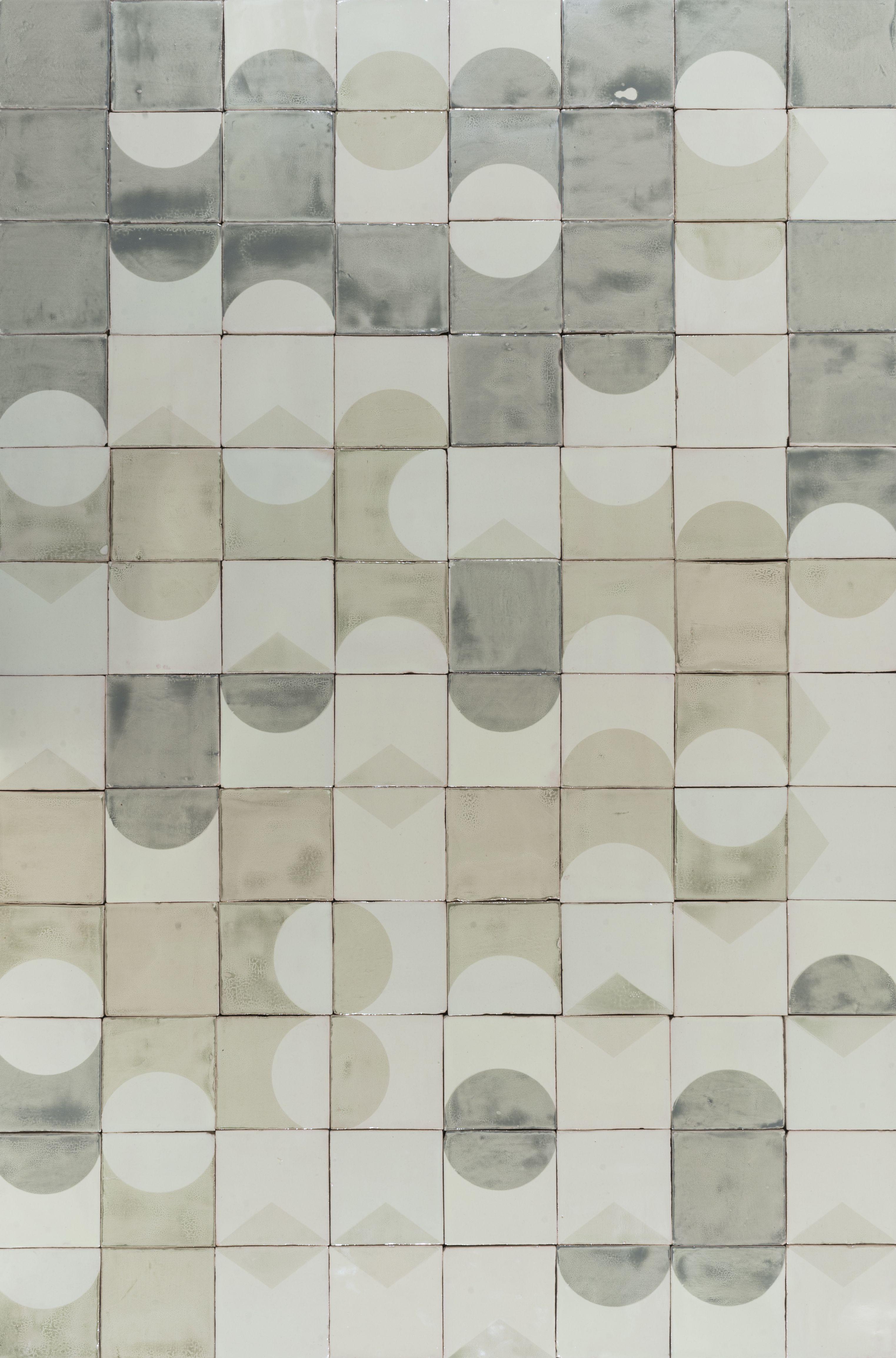 Pattern Of Handmade Printed Ceramic Tile Design Eclipse Ceramic