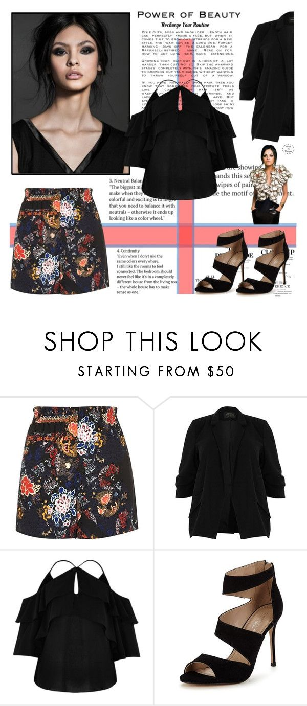 """""""Power of beauty"""" by krystalkm-7 ❤ liked on Polyvore featuring River Island and Carvela"""