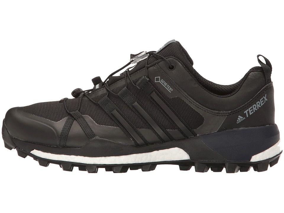 Adidas Outdoor Terrex Skychaser Gtx Men S Shoes Black Black White Adidas Adidas Sneakers Shoes