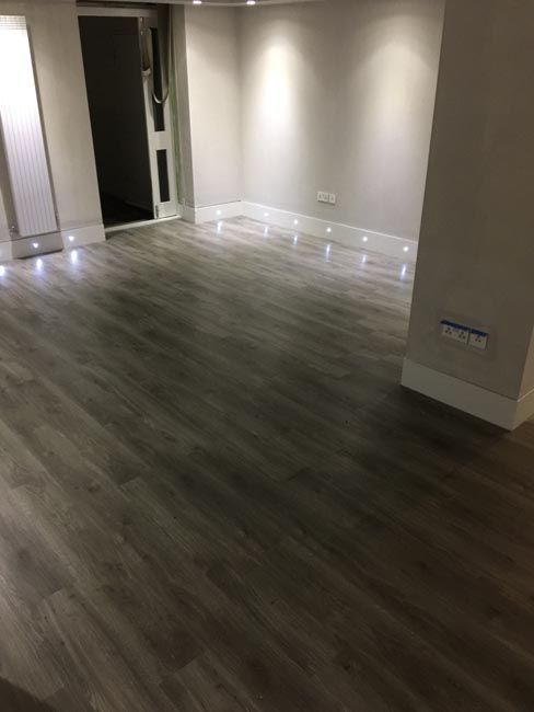 Amtico Grey Wood Flooring To Premises In South London Amtico In