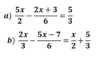 Ecuaciones Con Denominadores Resueltas Ecuaciones Primeros Grados Como Resolver Ecuaciones