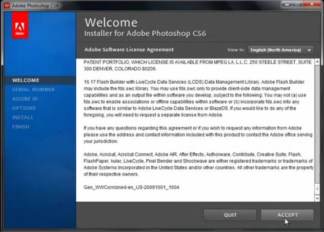 daftar photoshop cs6 license key
