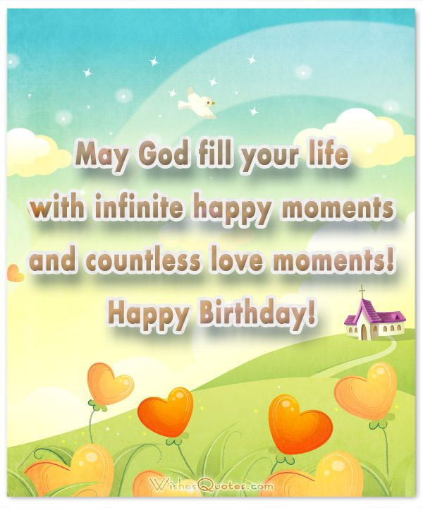 Christian Birthday Wishes – Religious Birthday Card Messages
