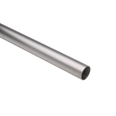 4 Ft Satin Stainless Steel 1 1 2 In Outside Diameter Tubing With 0 05 In Thickness 44 A110 4 Stainless Steel Railing Brushed Stainless Steel Star Wars Light Saber