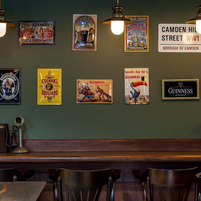 Decoração Bar Parede Verde Musgo Piloniarquitetura 95482 Decor Pub
