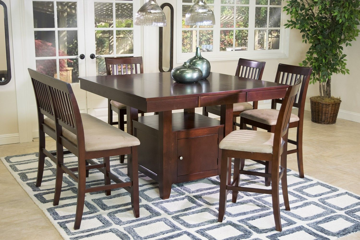 Brendan Counter-Height Dining Room - Dining Room Sets - Shop Rooms | Mor Furniture for Less