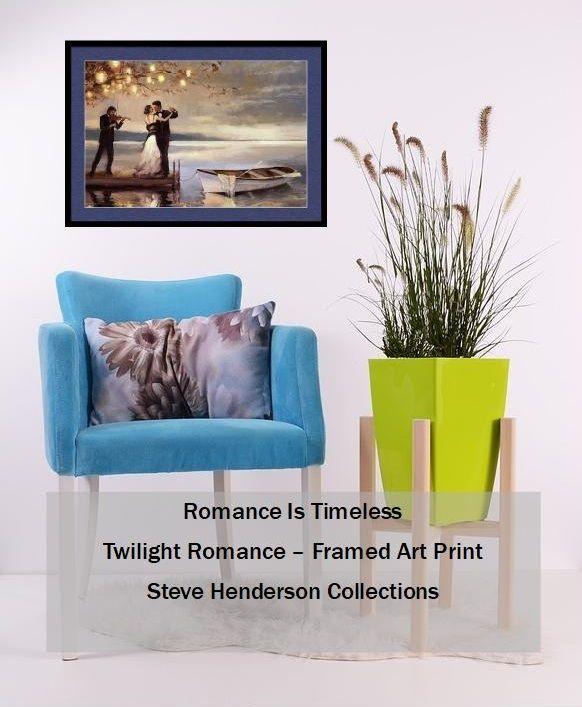 Twilight romance framed art at steve henderson collections