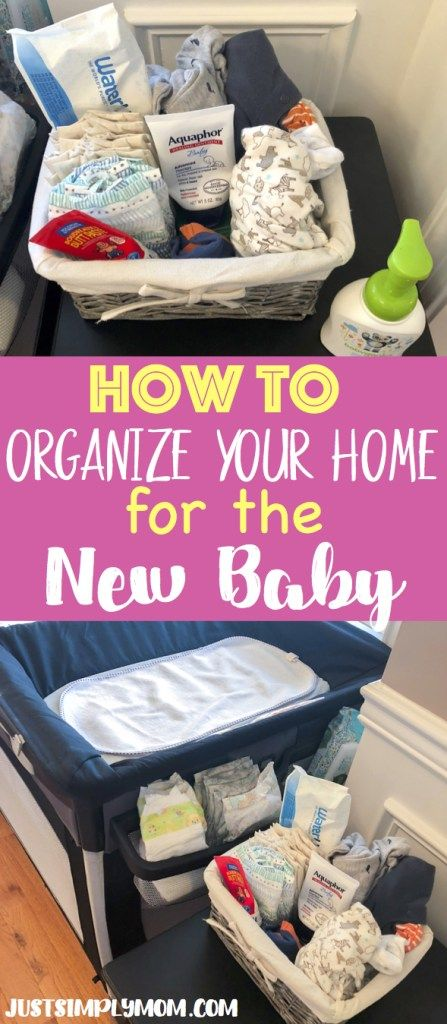 How to Organize Your House Before Bringing Home the New Baby images