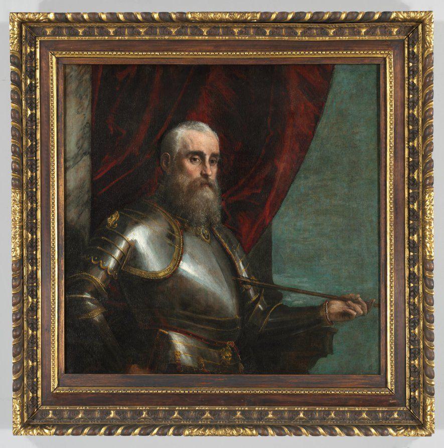 Portrait Of Agostino Barbarigo Mannerism Art Cleveland Museum Battle Lepanto