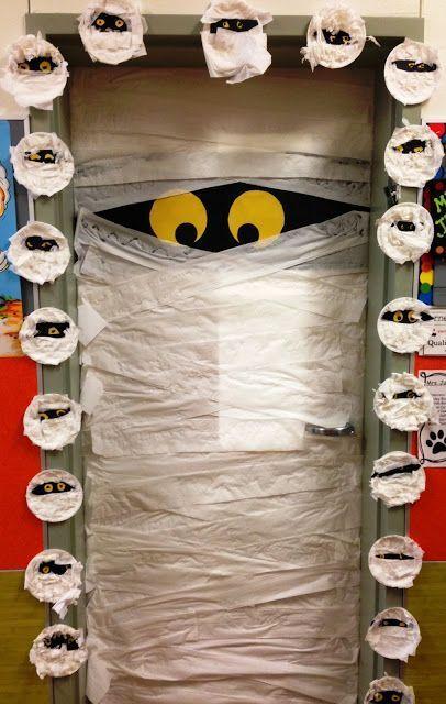 Trick Or Read Door Decorating Freebies And More Halloween Diy Door Halloween Preschool Halloween Classroom