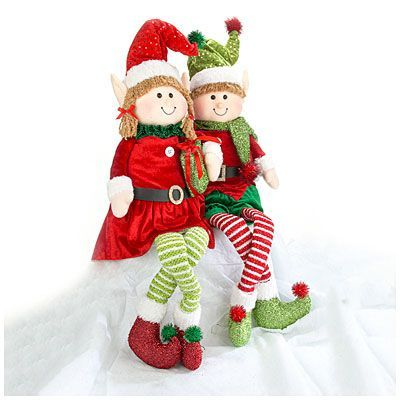 Christmas Plush Sitting Elves at Big Lots. | Holidays/seasons ...